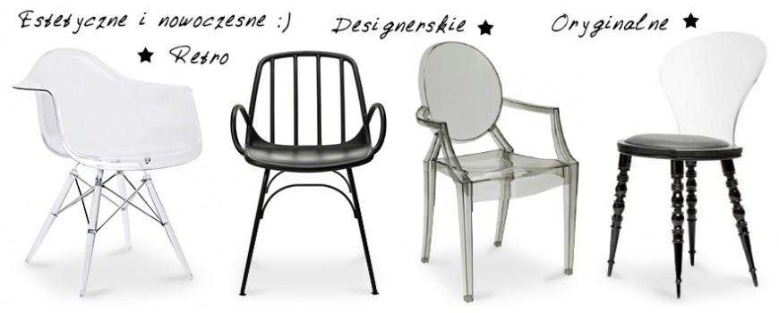 Krzesło z tworzywa sztucznego