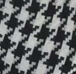 wzór duża pepitka czarno biało szary