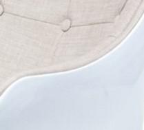 biały korpus / tkanina beż