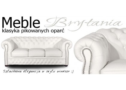 Sofa Chesterfield Brytania