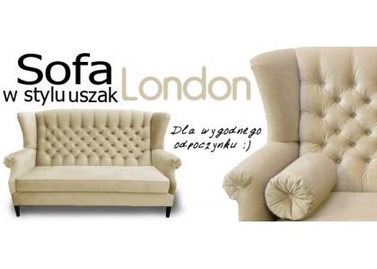 Sofa Chesterfield Uszak London dla wygodnego wypoczynku