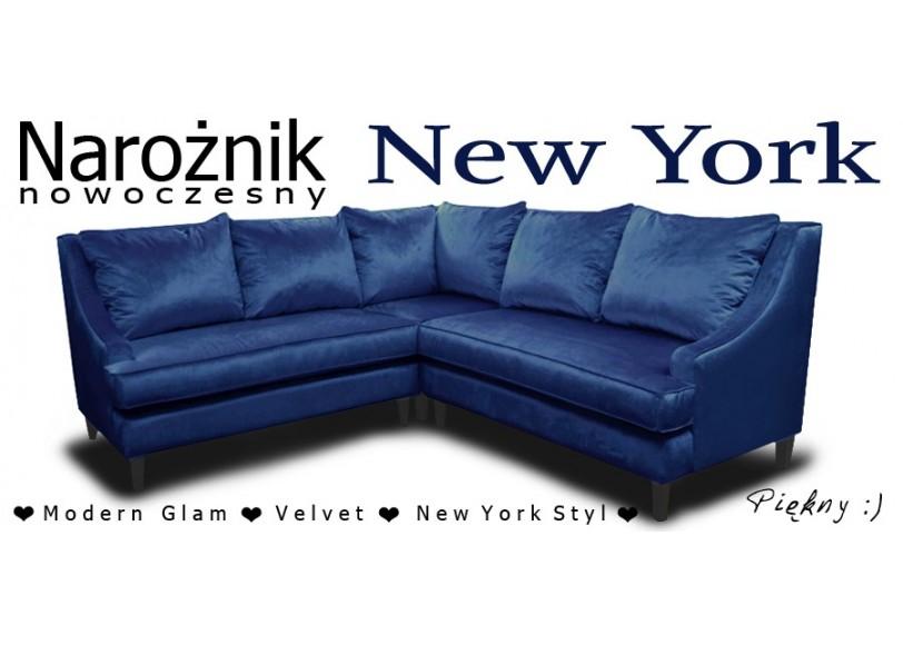 Narożnik New York Velvet