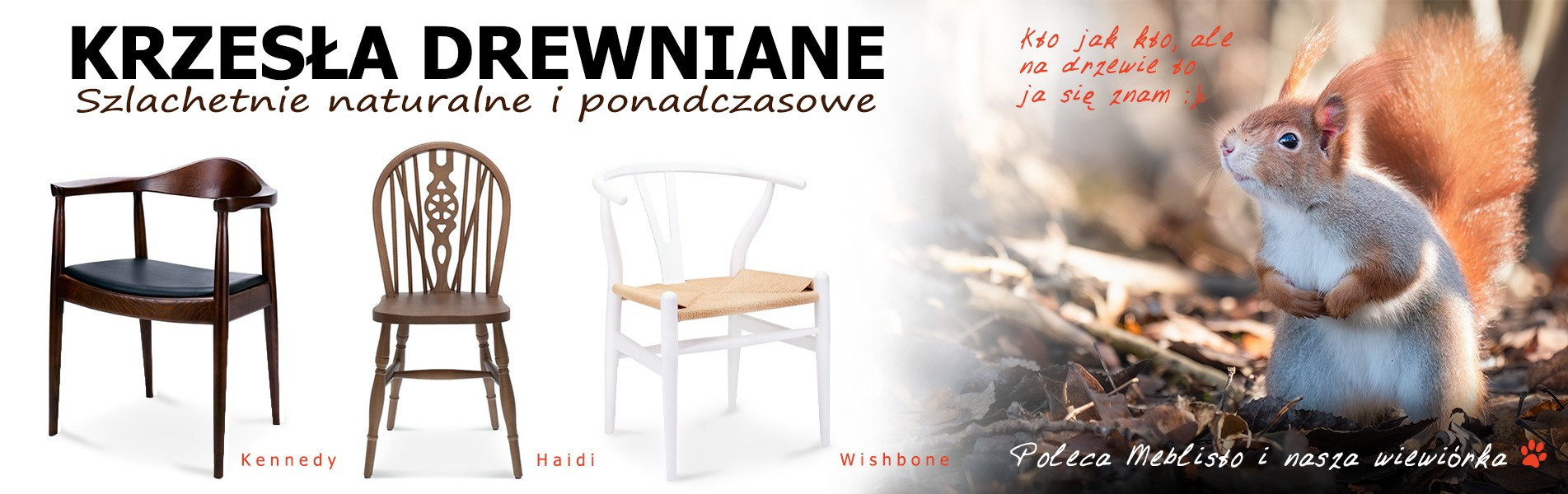 Krzesło drewnine
